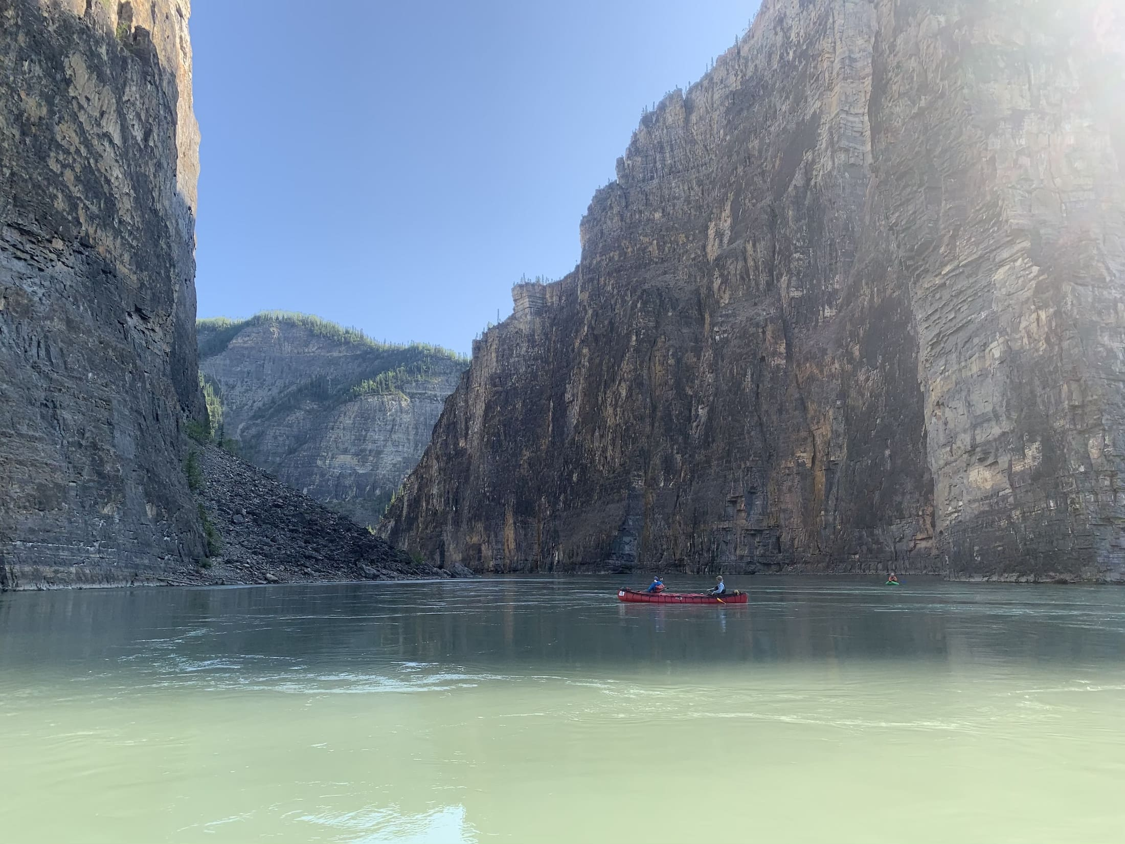 Nahanni National Park Reserve canoeing