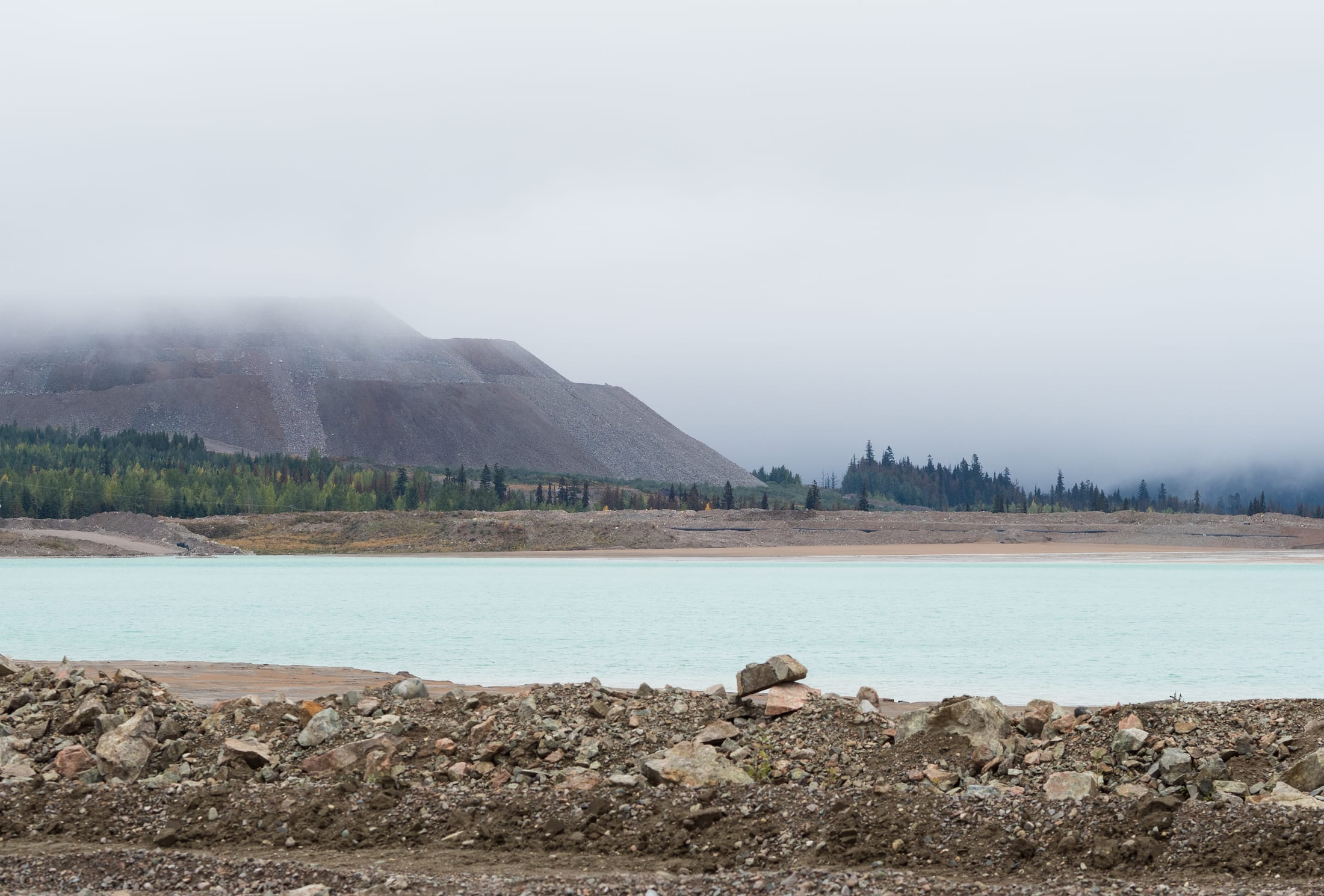 Mount Polley Mine's tailings pond