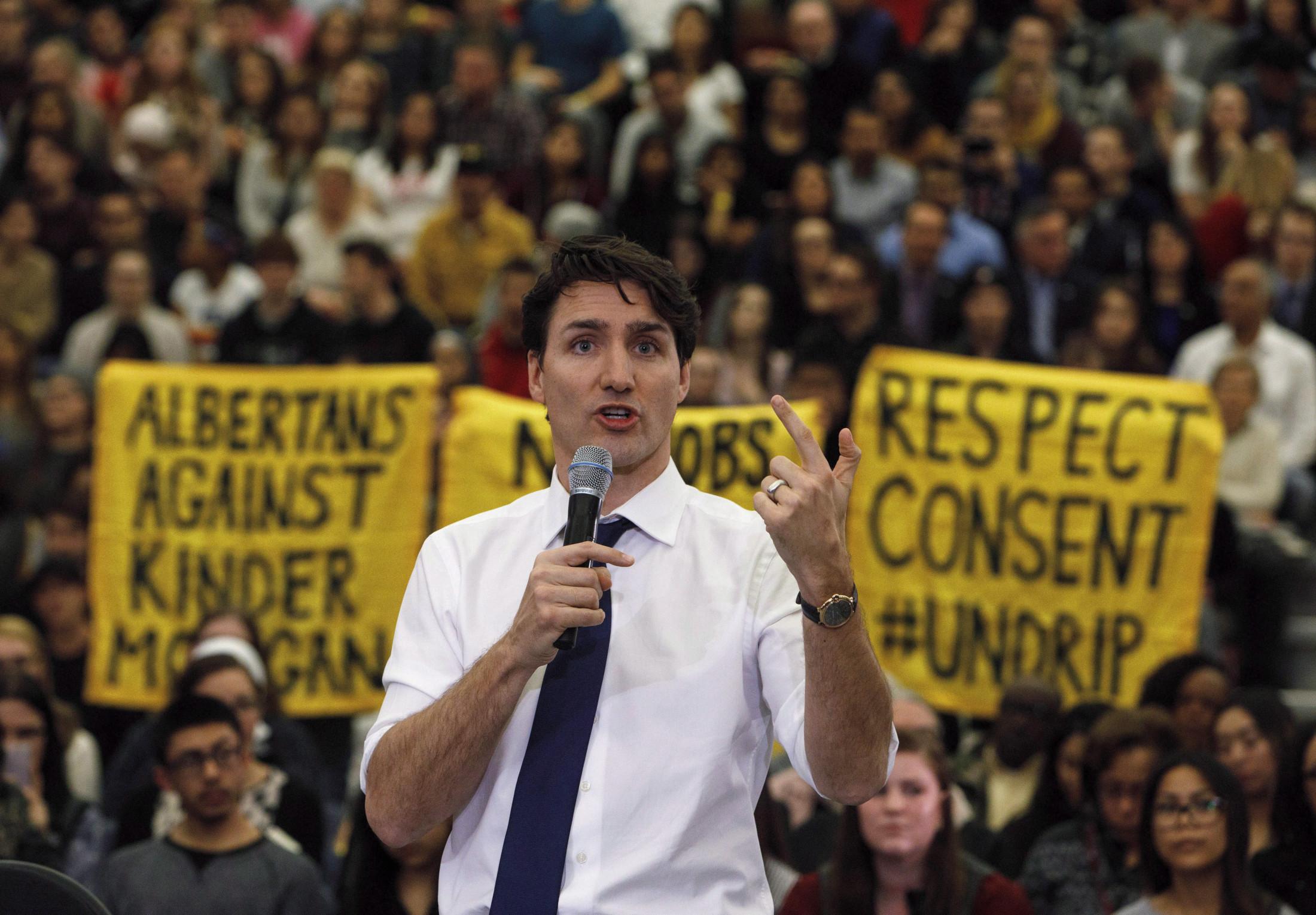 Justin Trudeau Climate Justice Edmonton