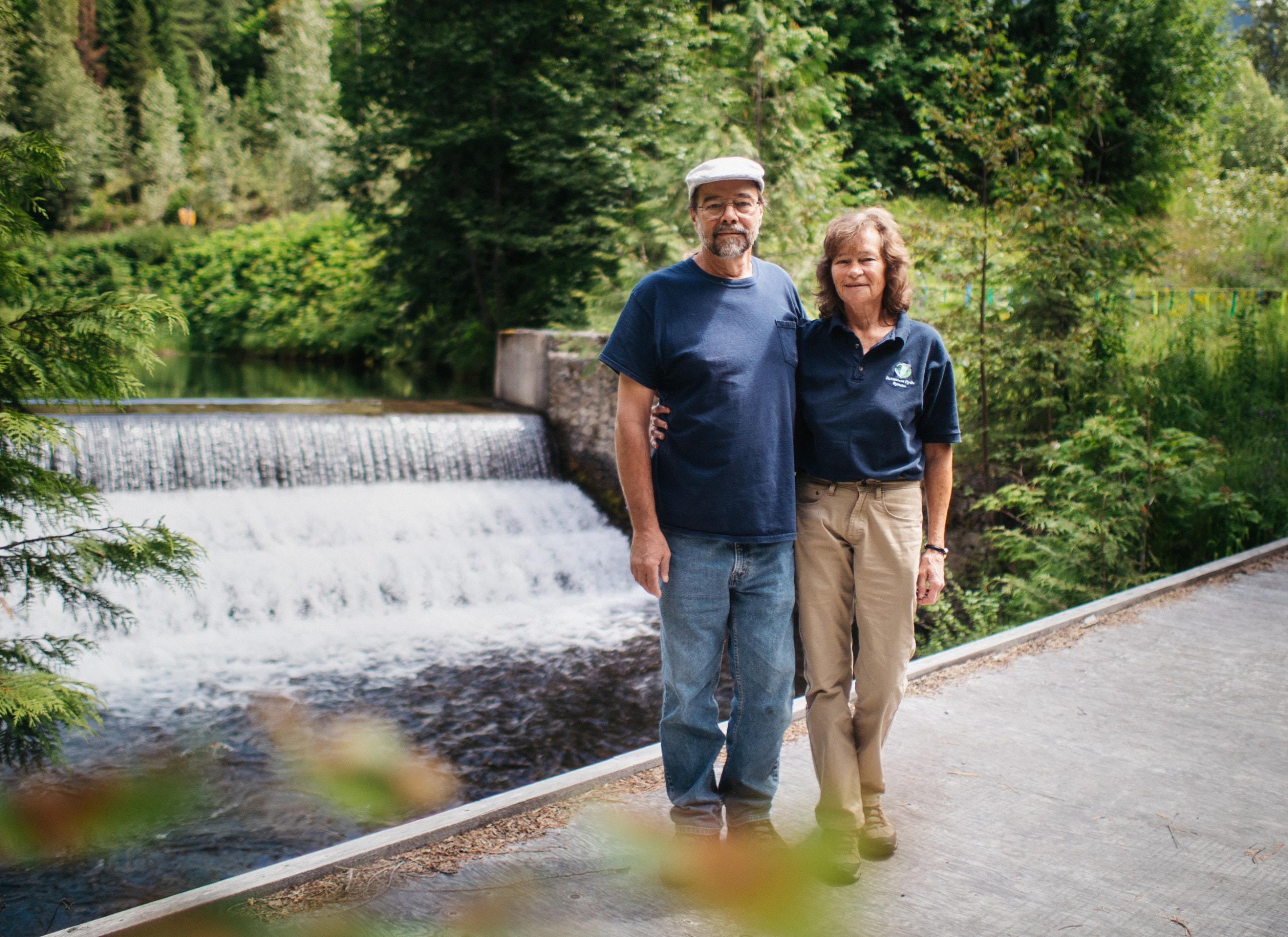 Jeff Ankenman and Sue McMurtrie of Homestead Hydro Systems