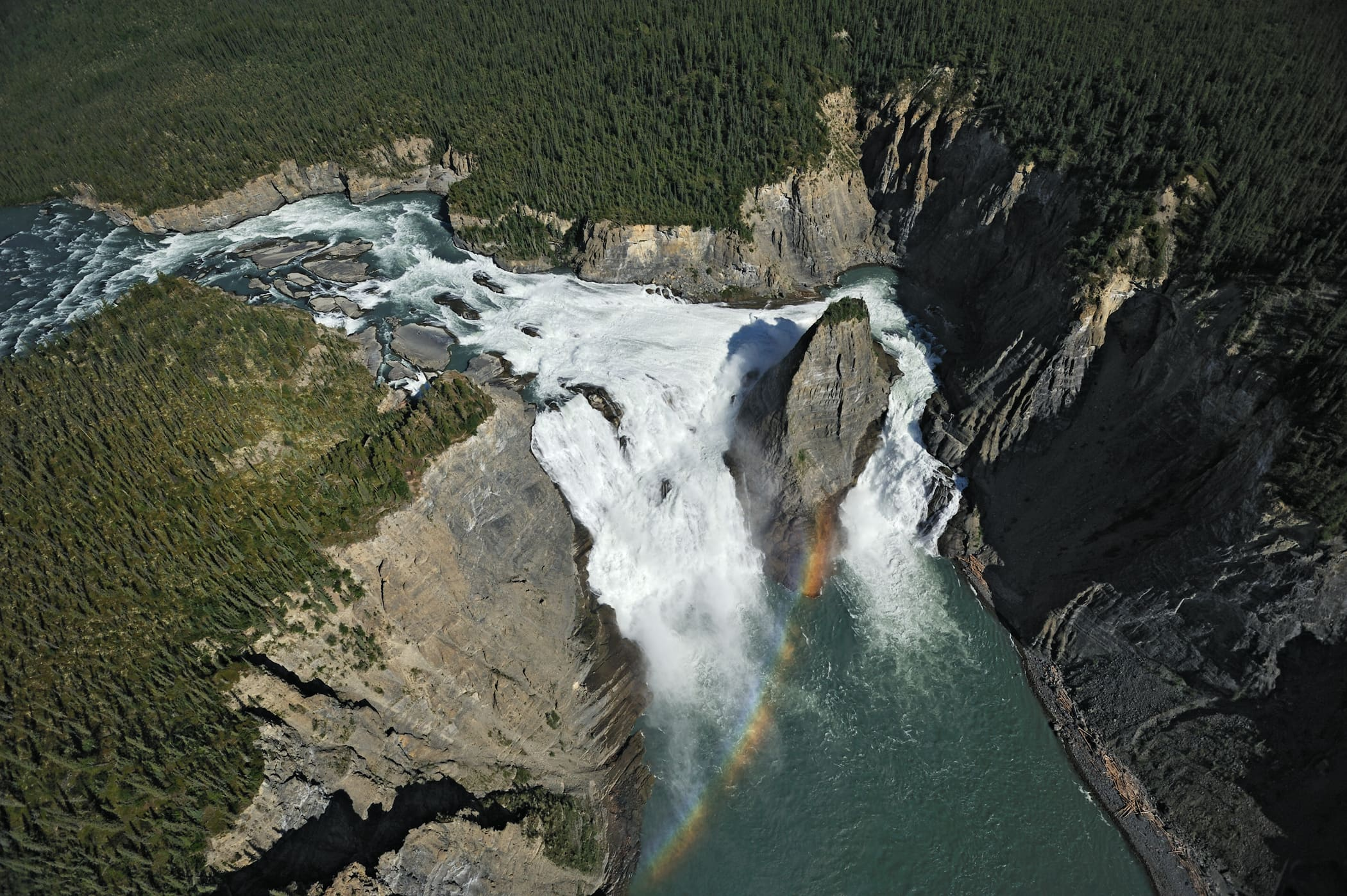 Nahanni National Park Reserve Peter Mather Virginia Falls