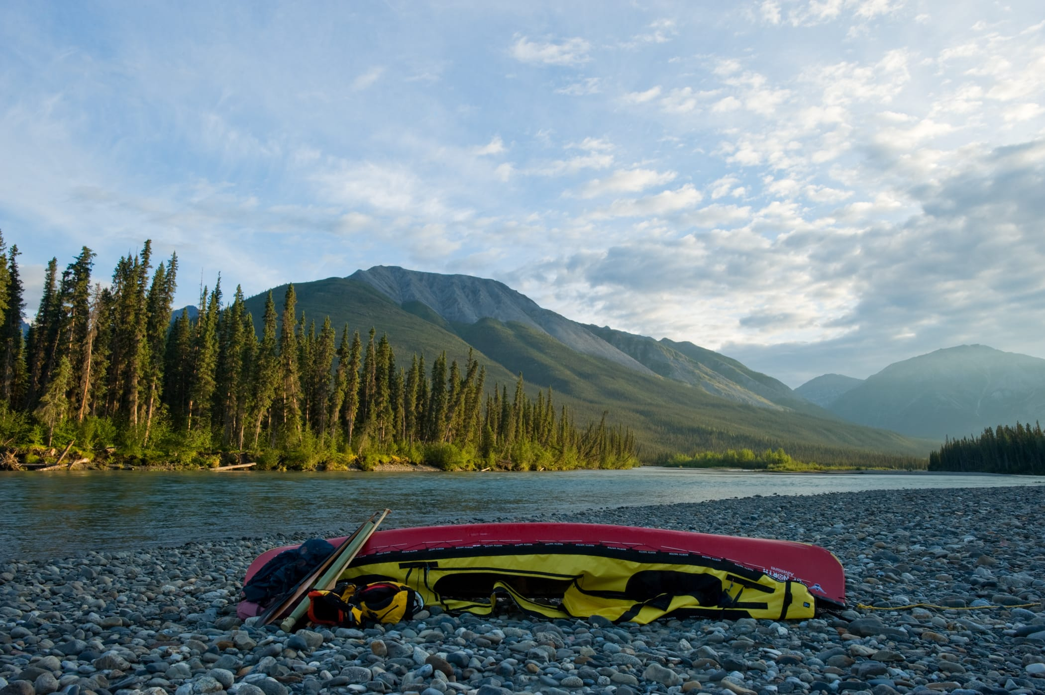 South Nahanni River Canoe