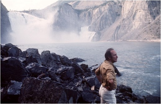 Pierre Trudeau-on-Nahanni-River-1970