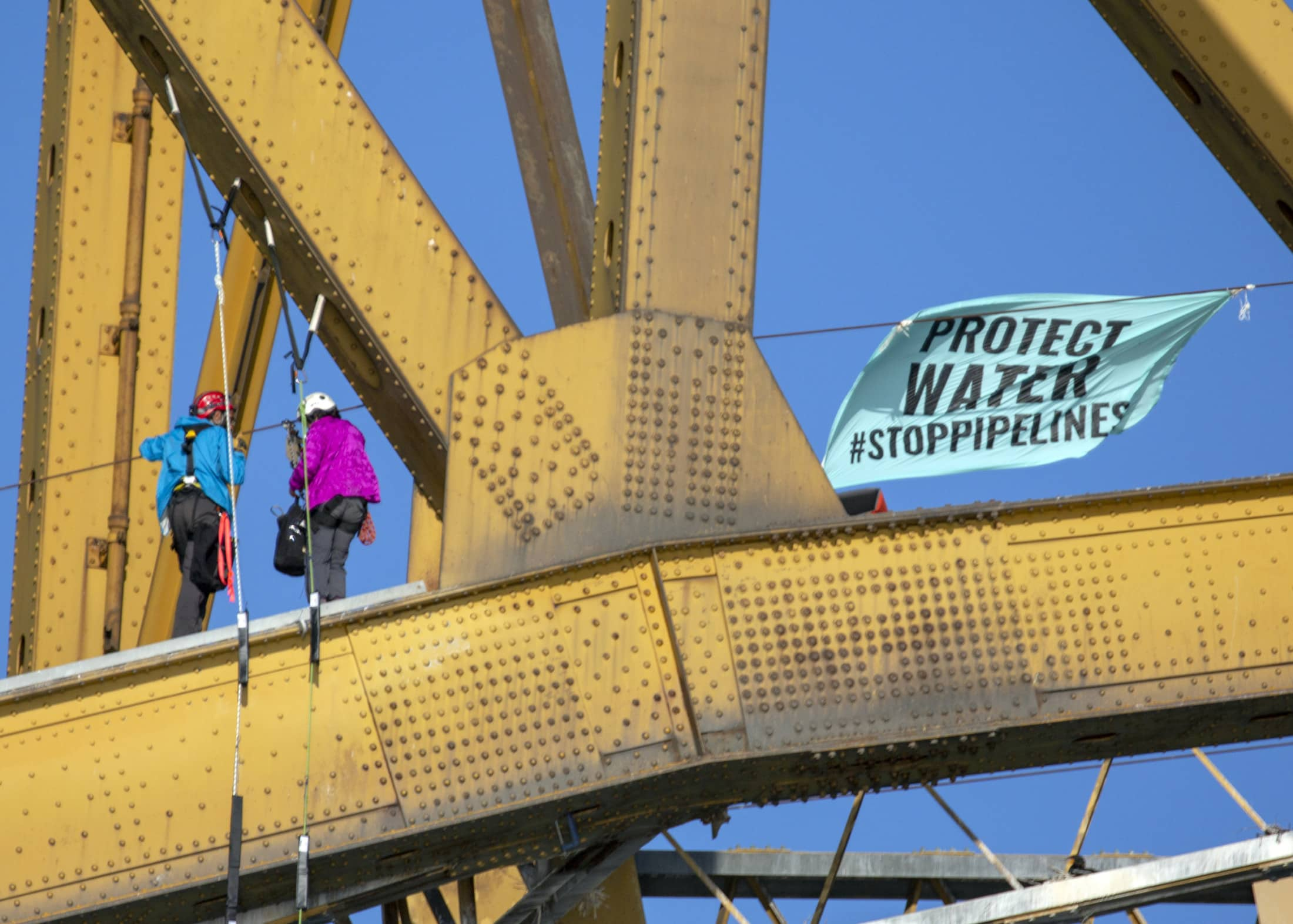 Climate justice Vancouver direct action activism Trans Mountain Pipeline Expansion