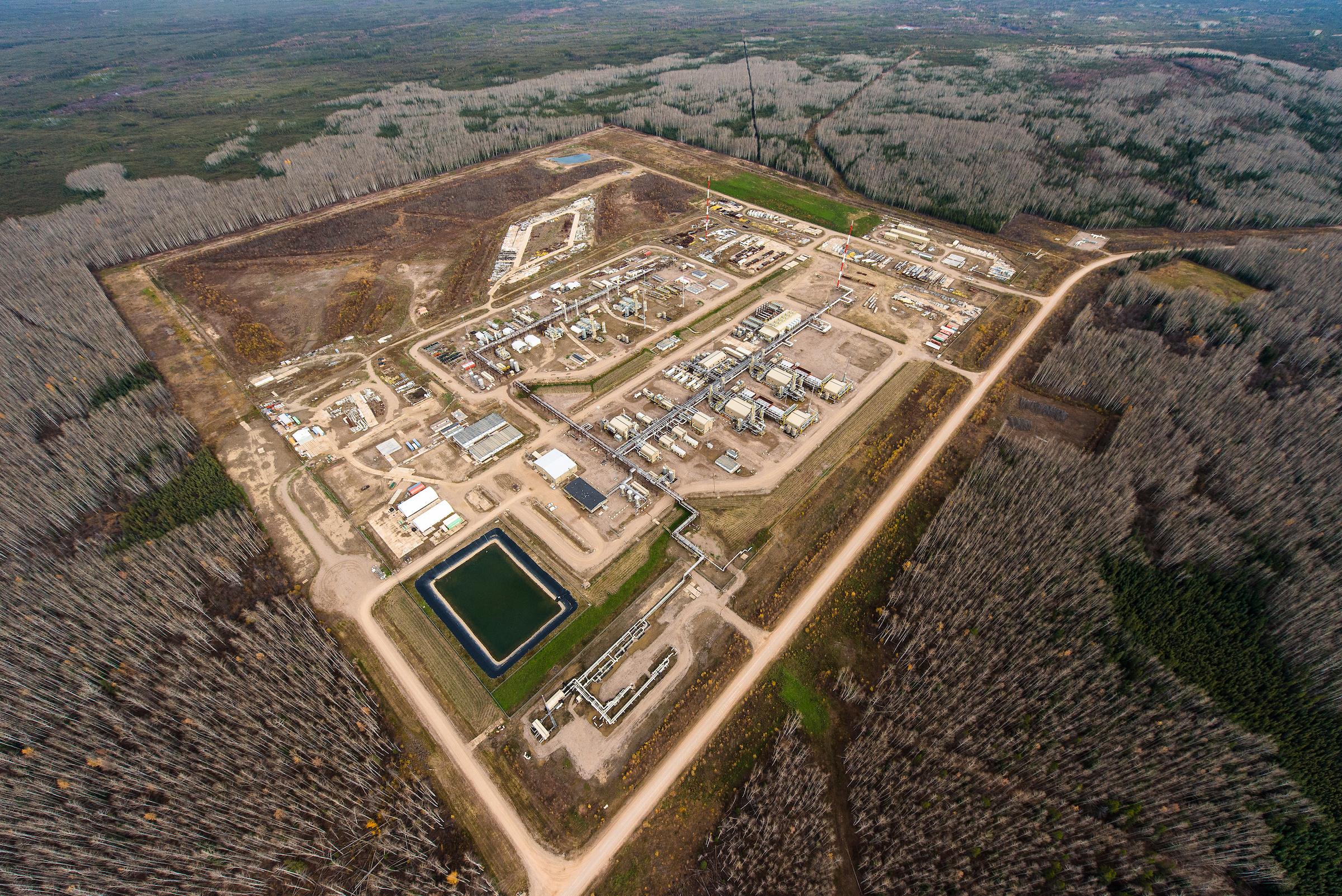 Cabin gas plant B.C.