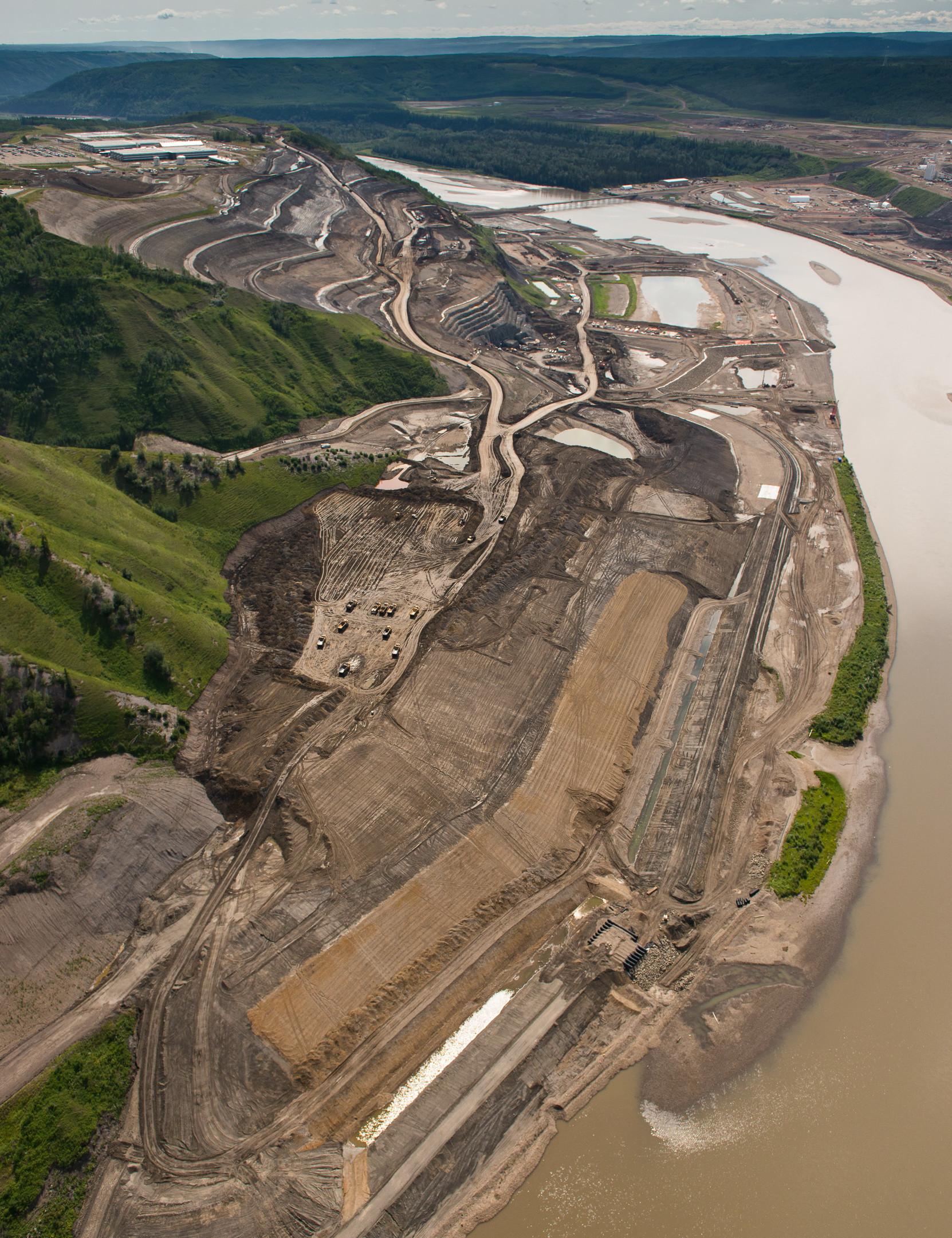 Site C dam construction 2018