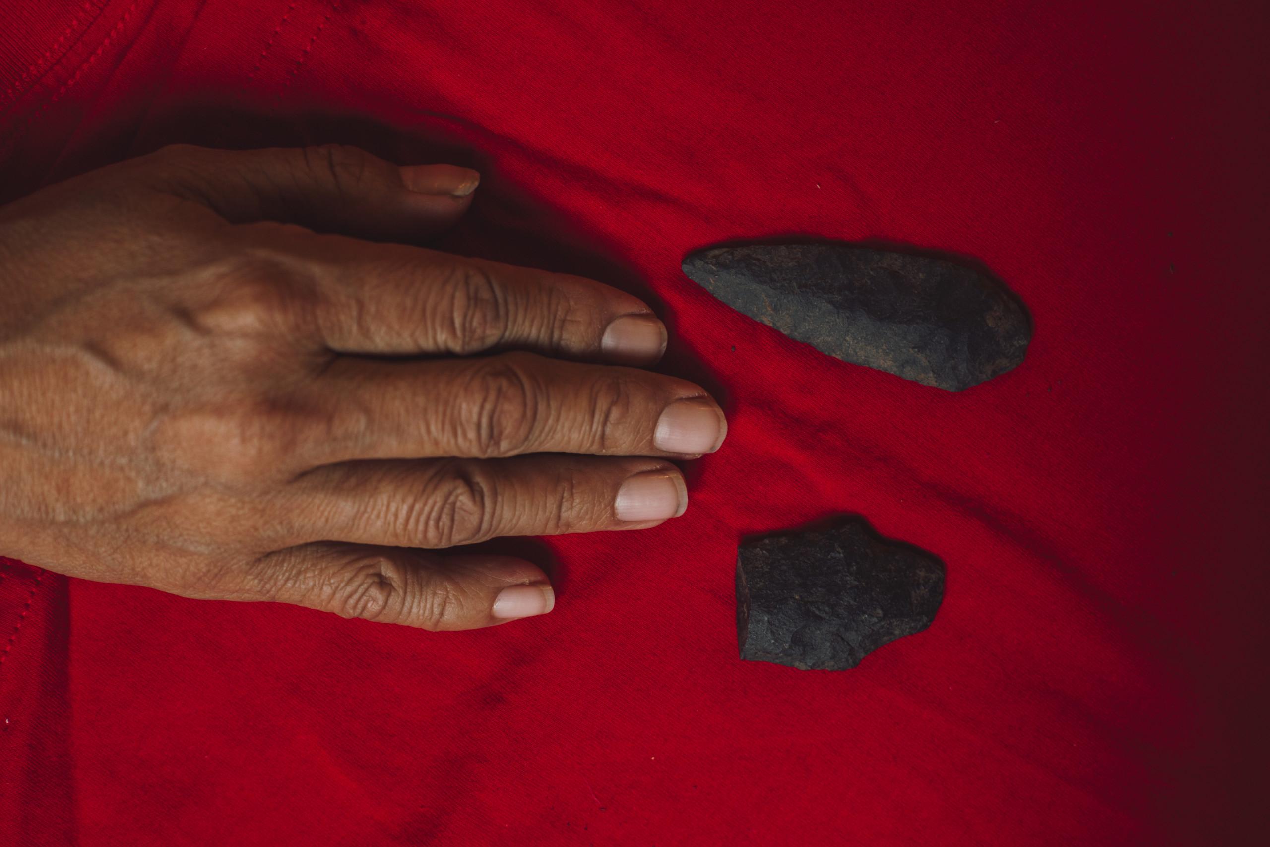 Unist'ot'en lithic stone tools