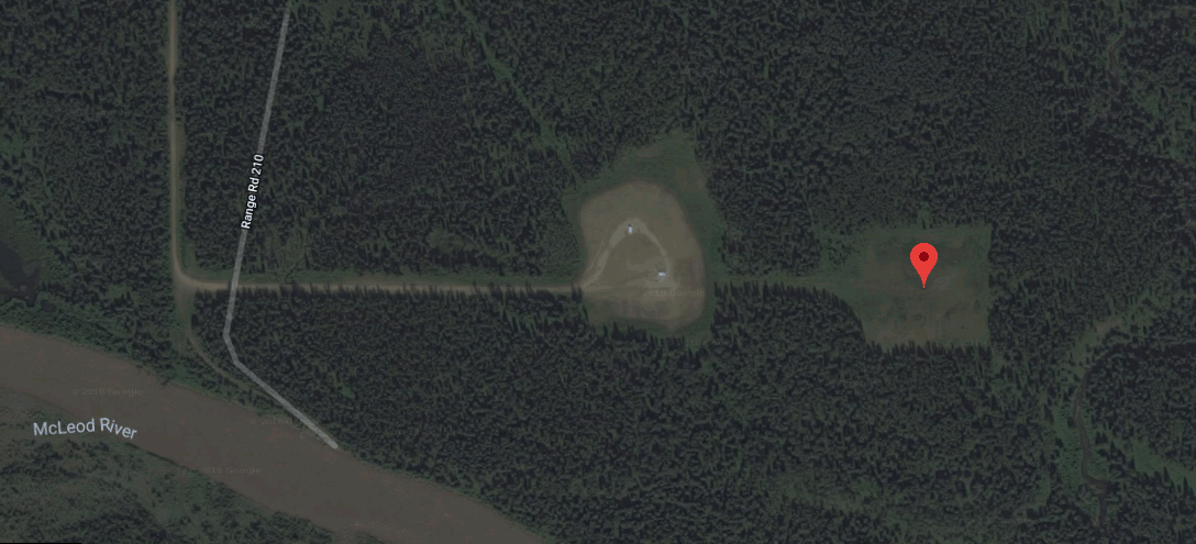 reclamation oil and gas well forest