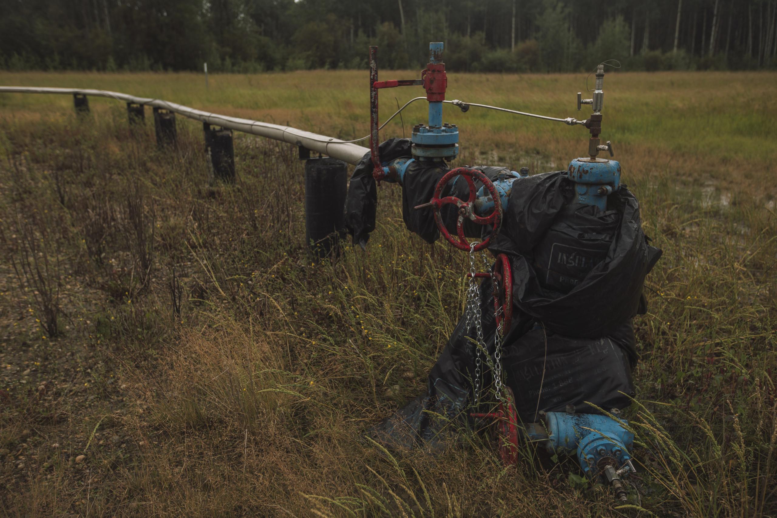 Fox Creek oil infrastructure