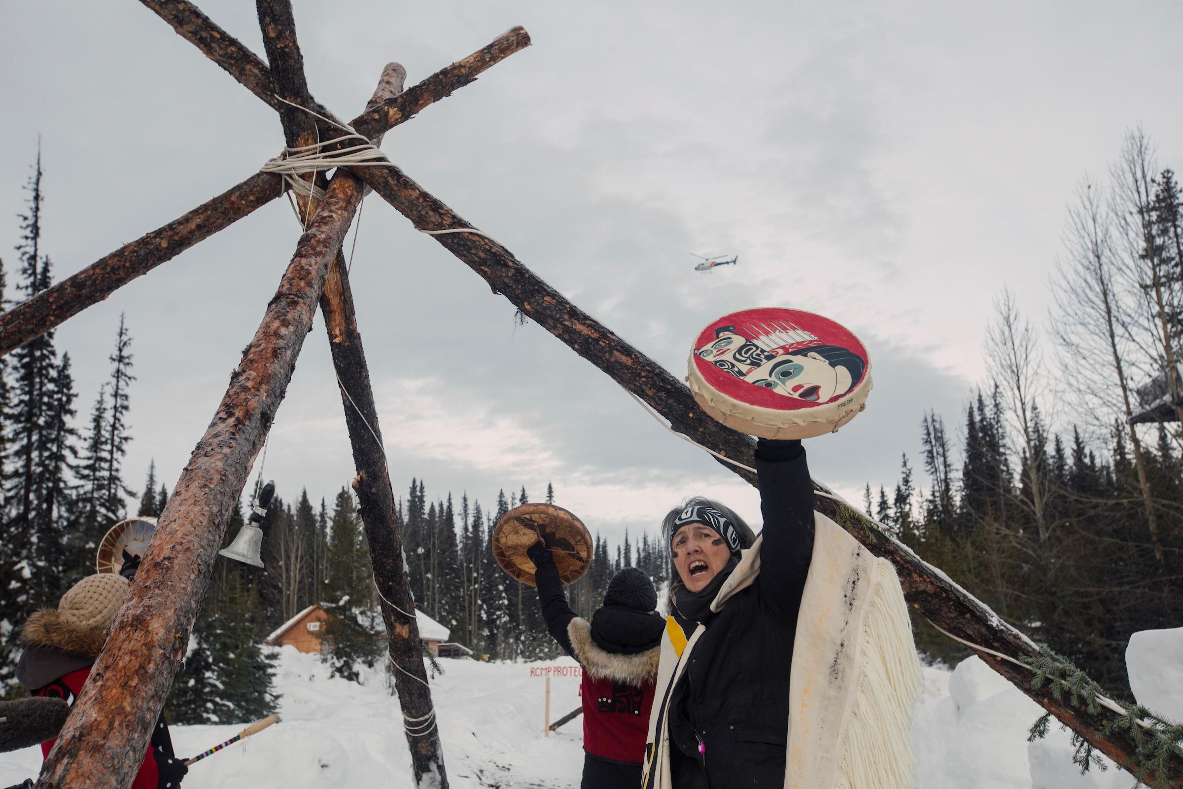 Freda Huson Unist'ot'en camp RCMP arrests