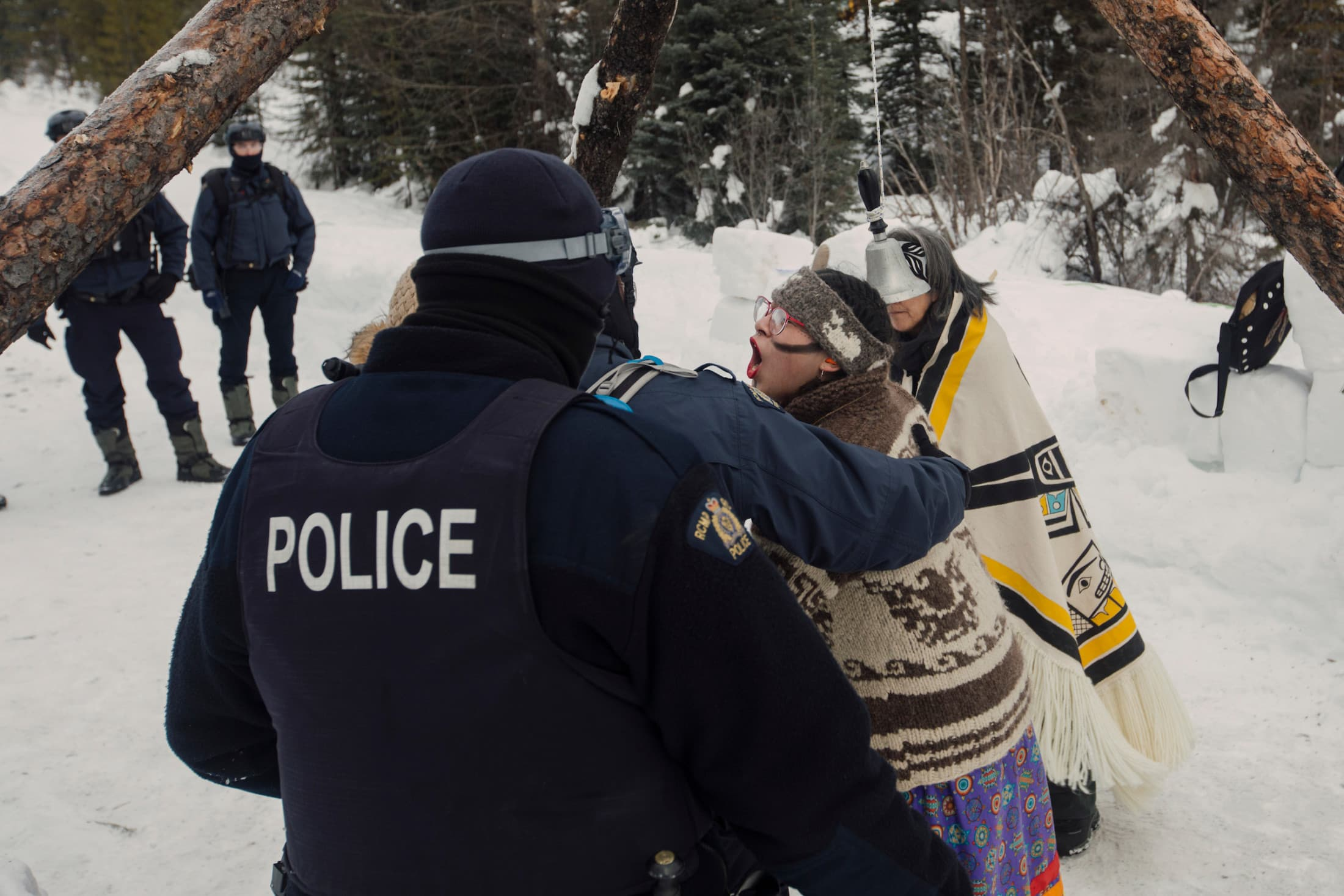 Unist'ot'en Wet'suwet'en RCMP injunction arrest