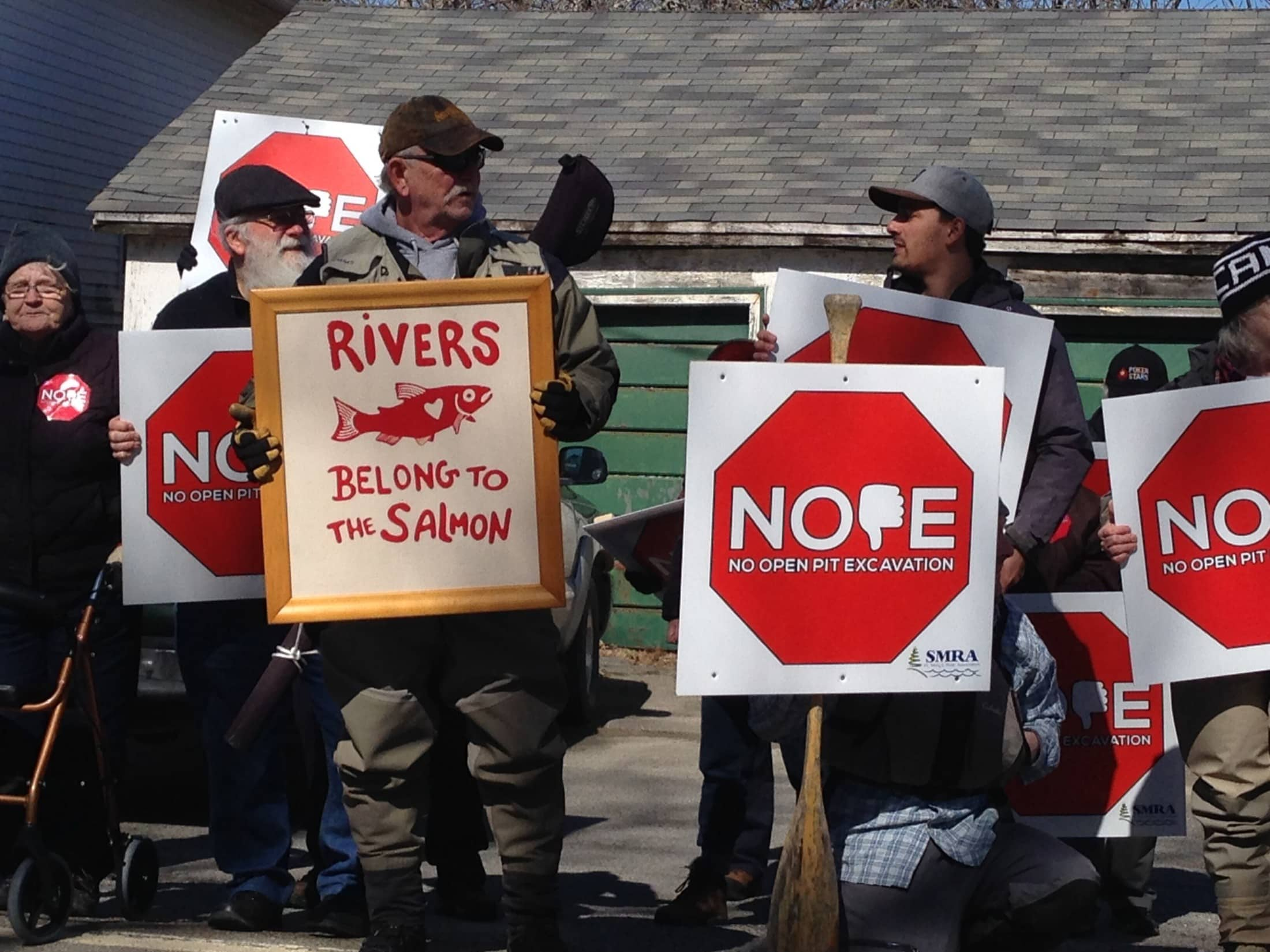gold mining Nova scotia protest Atlantic gold