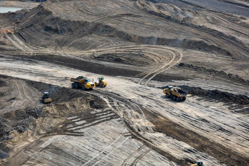 Construction Site C Dam