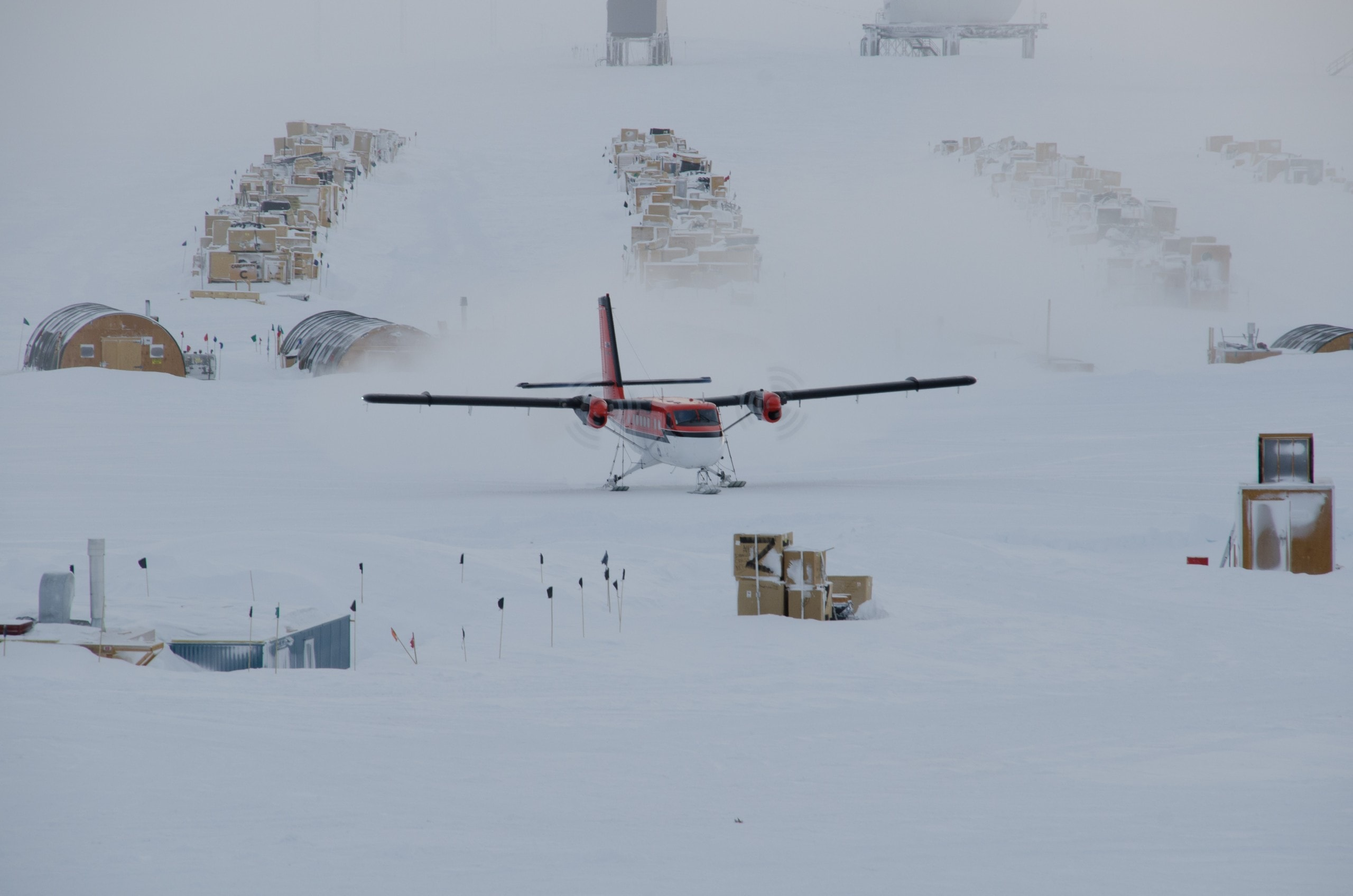 NOAA research state south pole