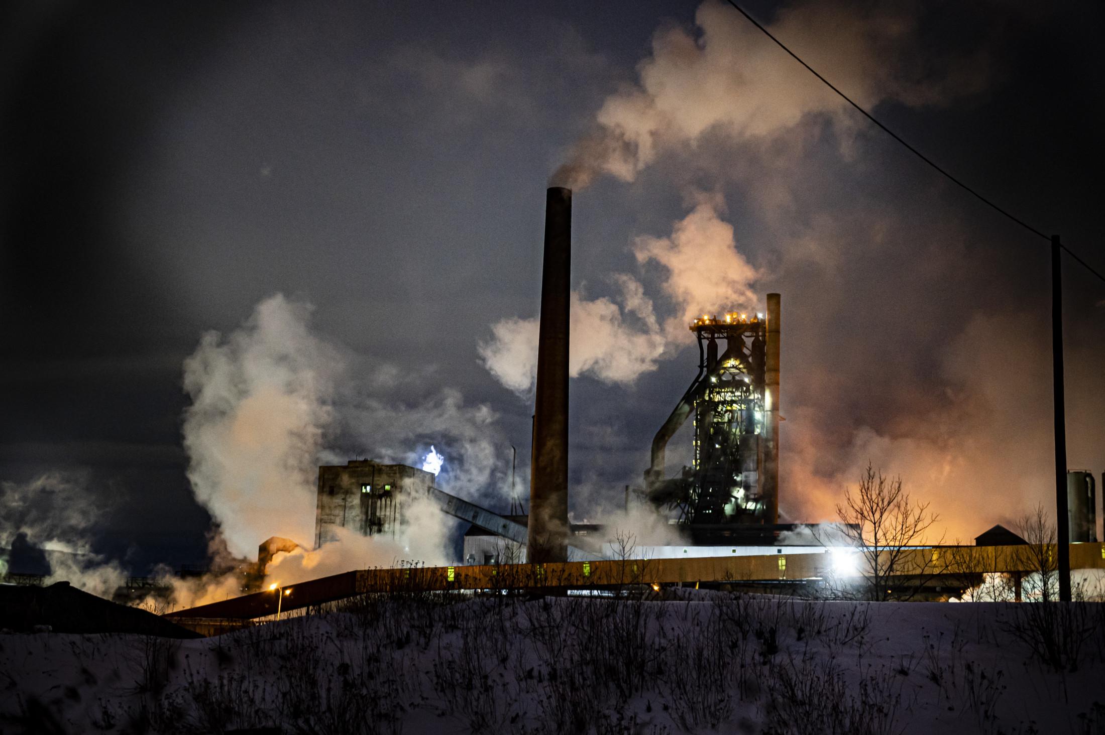 Algoma Steel plant Sault St. Marie