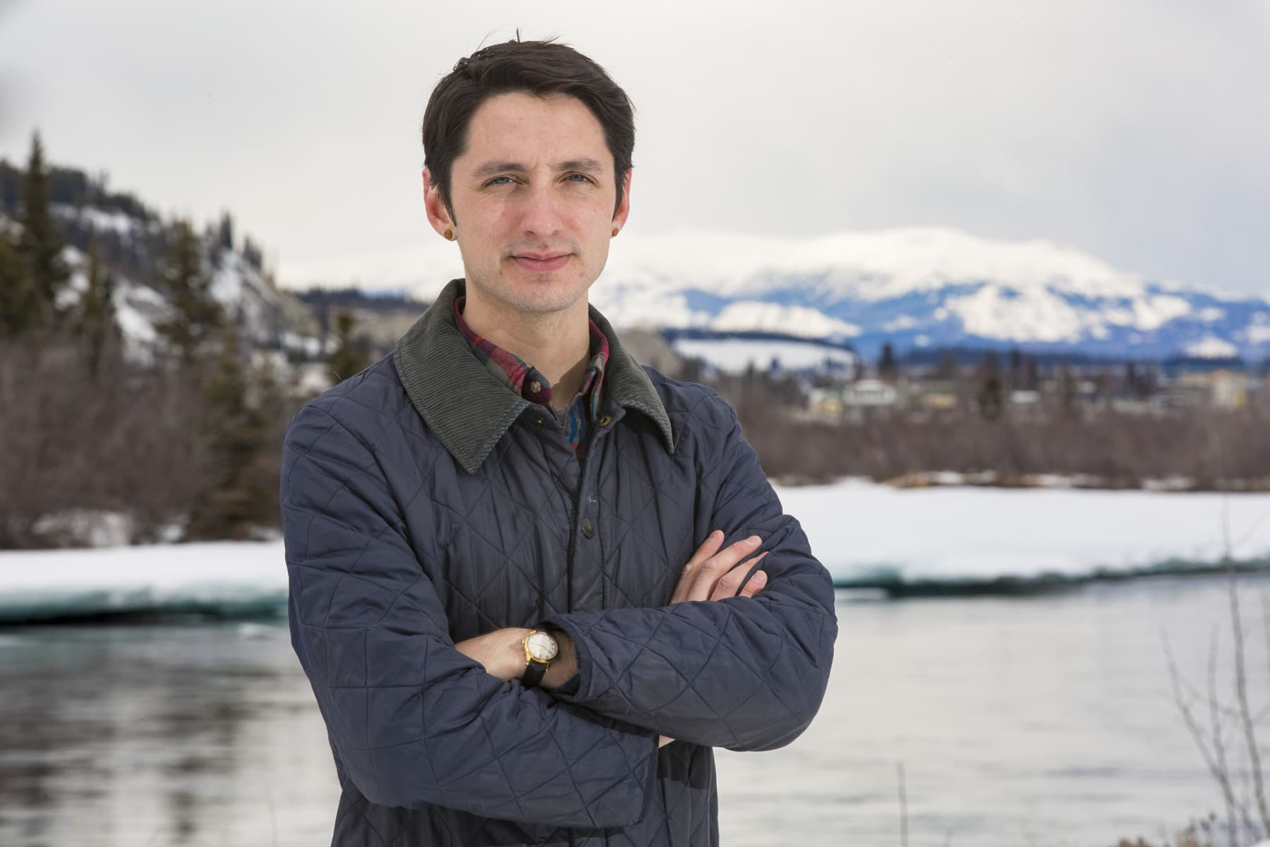 Julien Gignac portrait, The Narwhal, Yukon