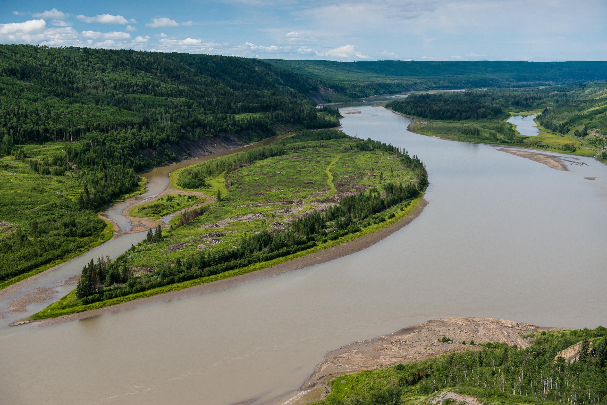 Eagle Island, Site C dam Peace River