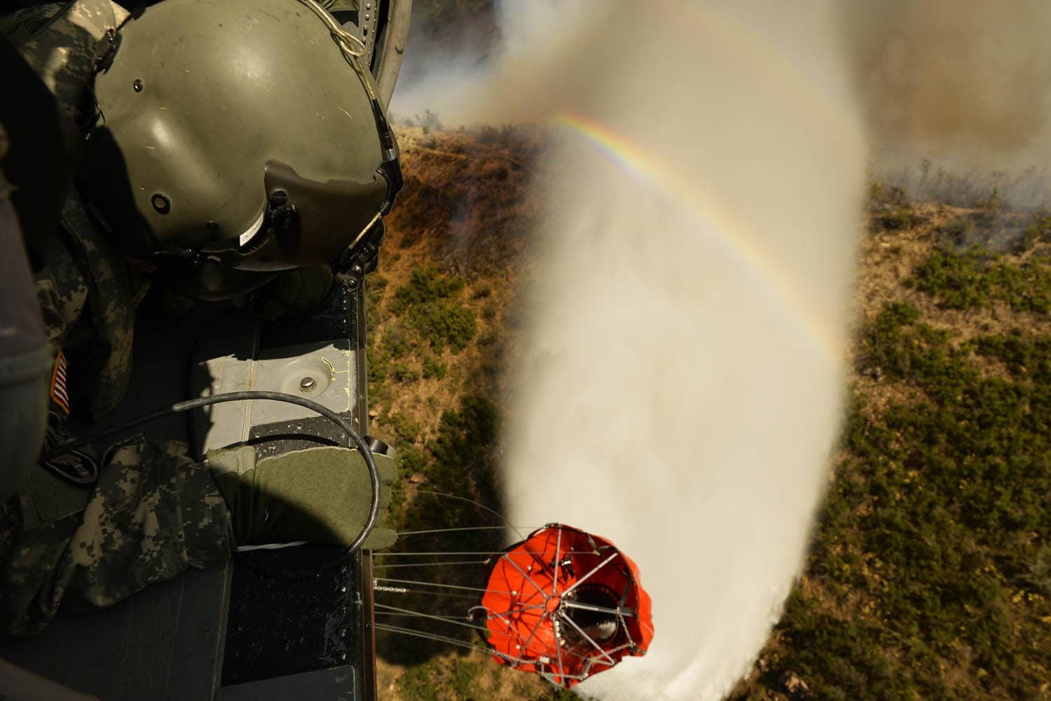 Utah Army National Guard vs Tunnel Hallow Fire