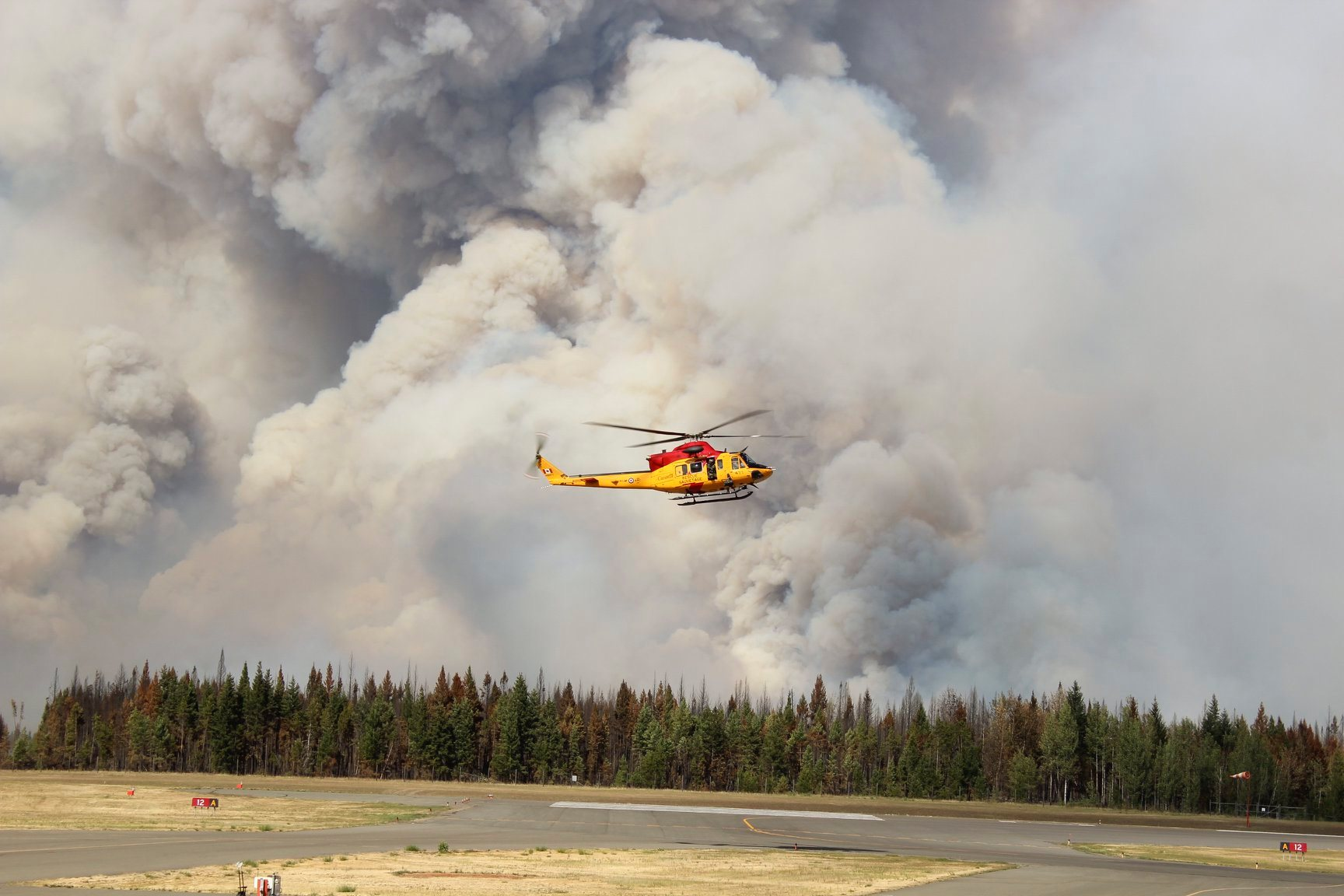 Williams Lake wildfire BC wildfire service