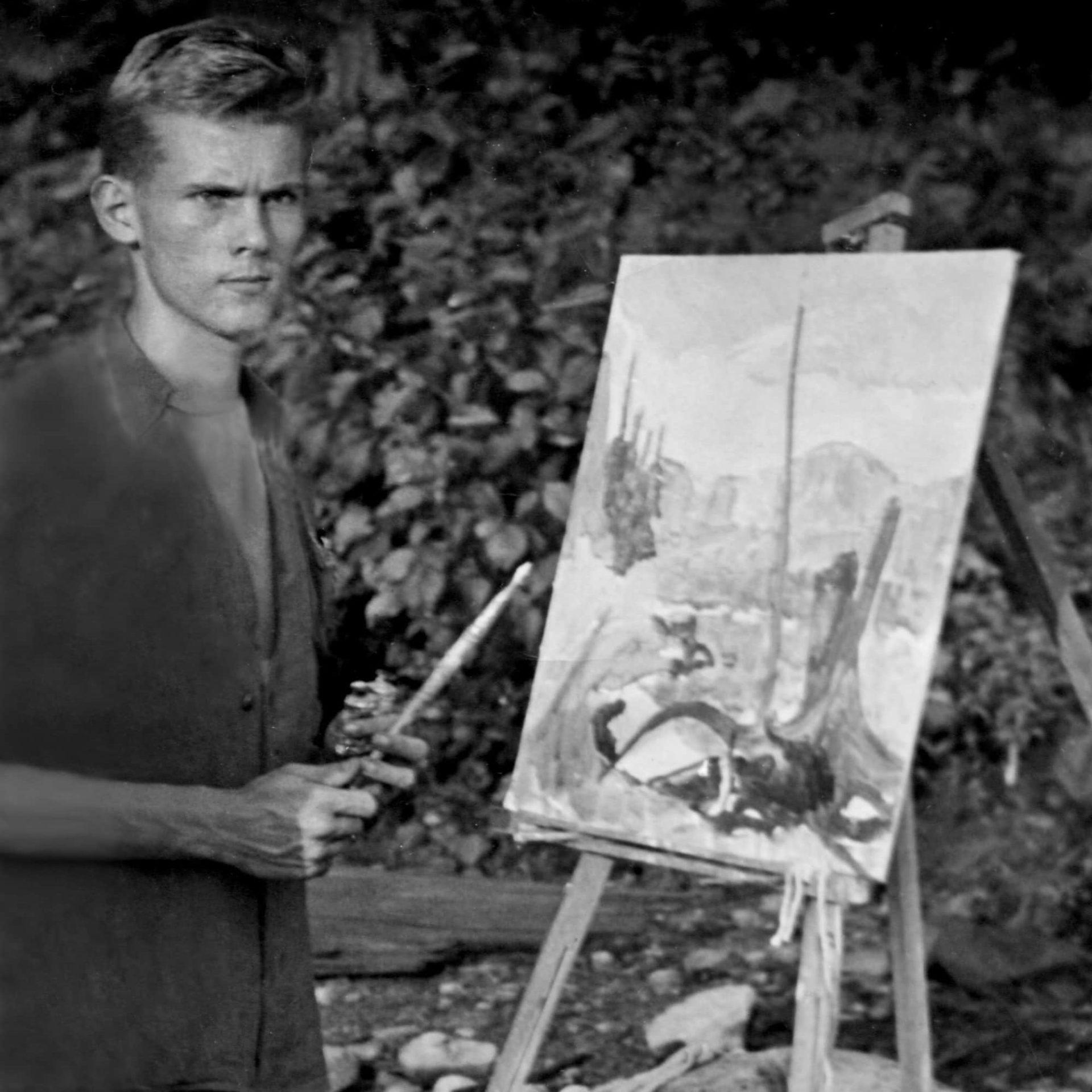 Robert Bateman, Algonquin Park Ontario, 1948