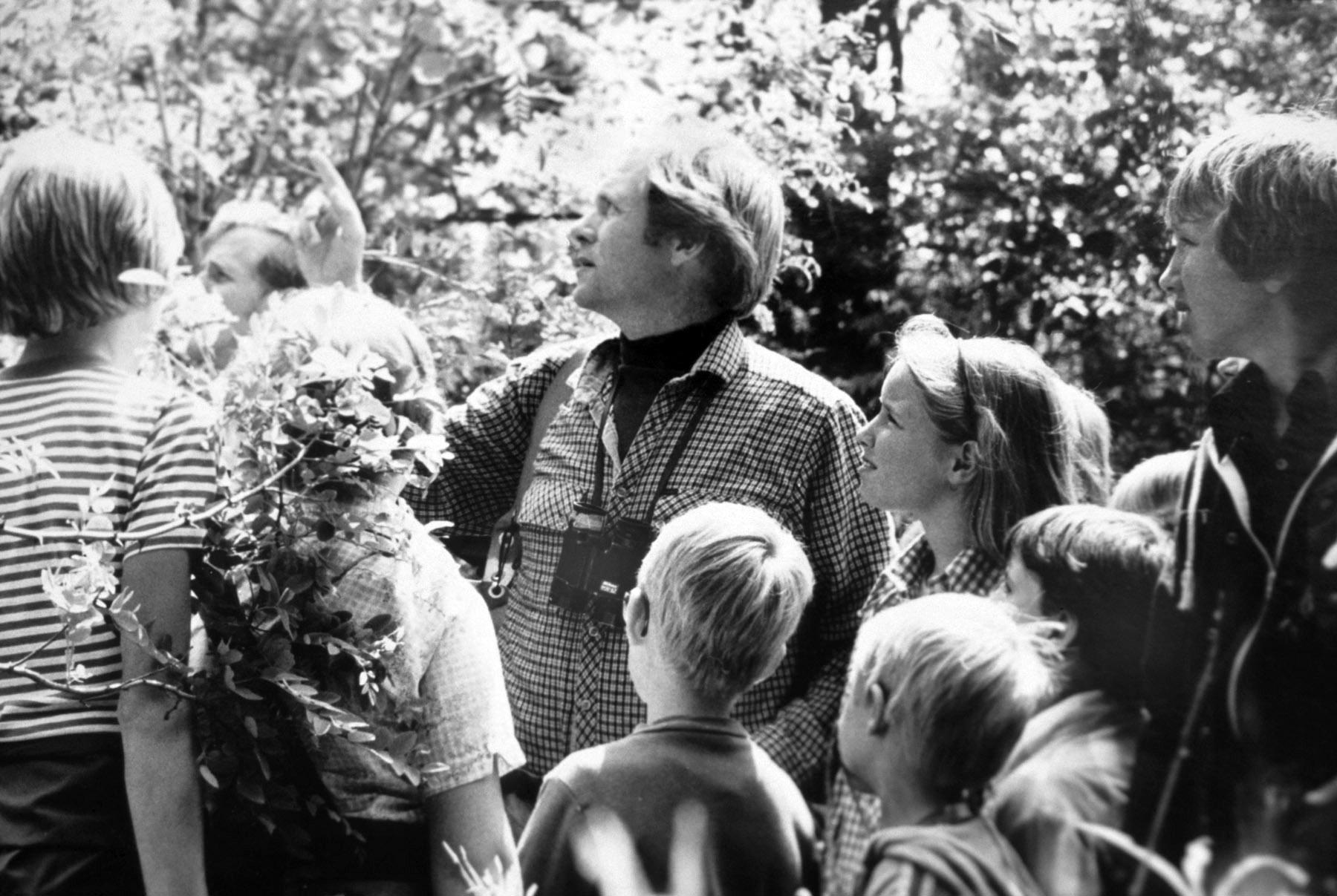 Robert Bateman, high school teacher, 1970