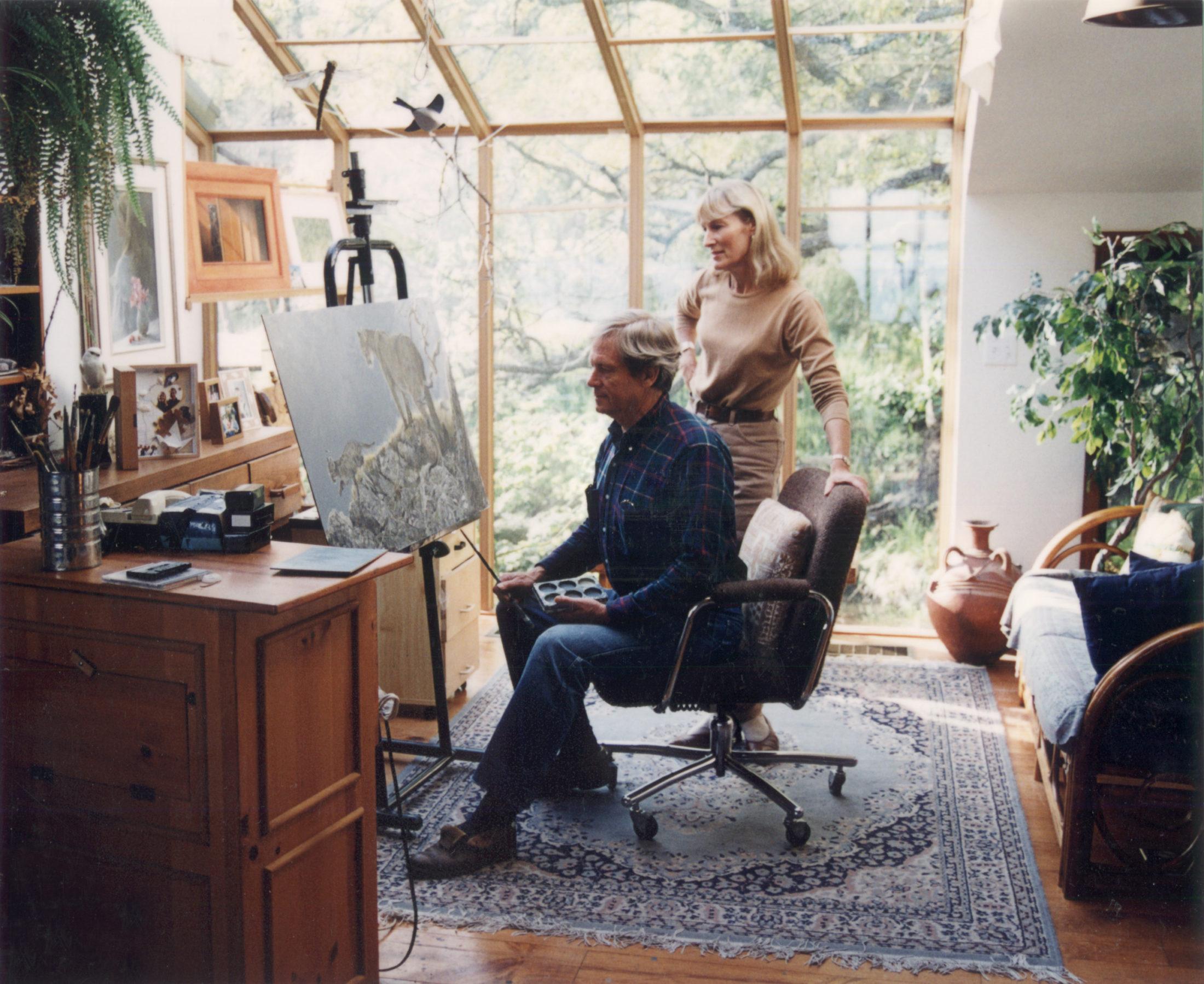 Robert and Birgit Bateman, 1997