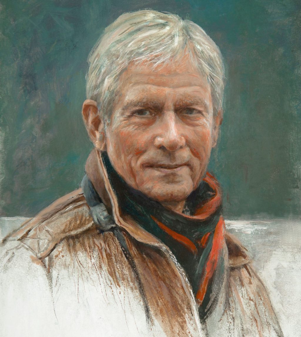 Robert Bateman, Self-portrait