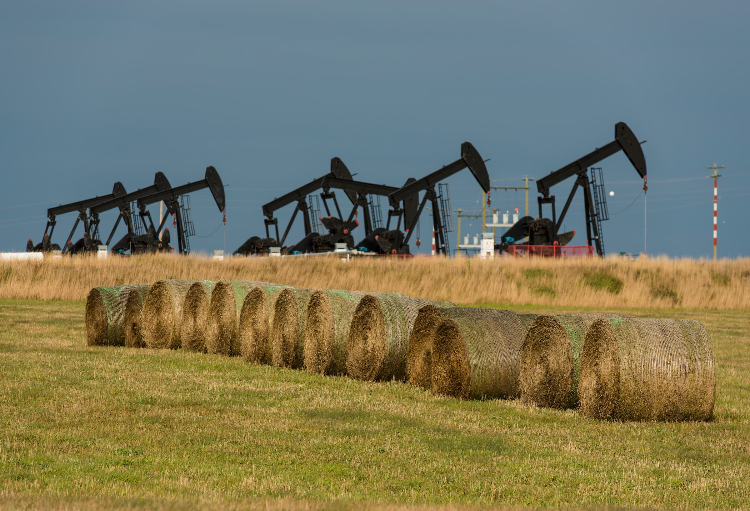 B.C. oil and gas wells