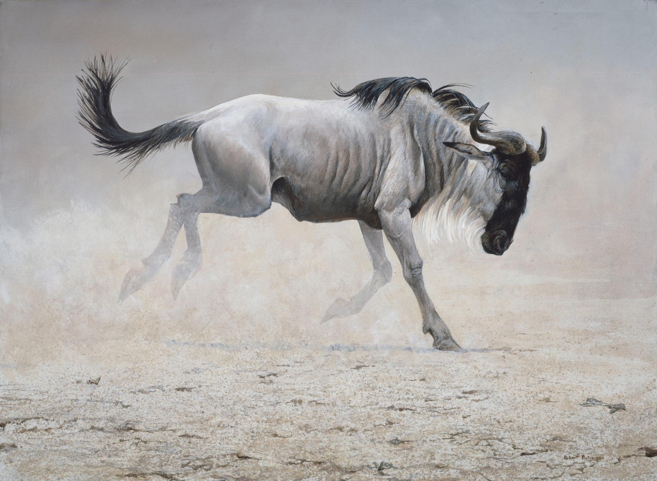 Robert Bateman, Wildebeest