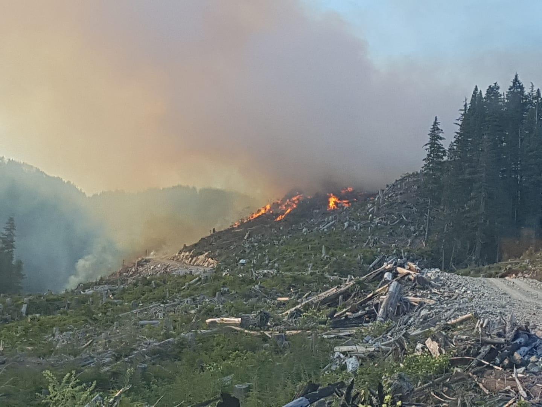 Bish Creek wildfire