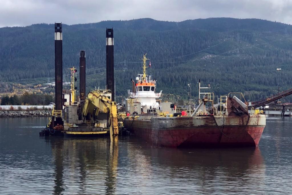 LNG Canada dredging
