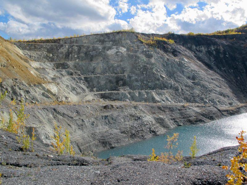 Hudgeon Lake Clinton Creek asbestos mine Yukon