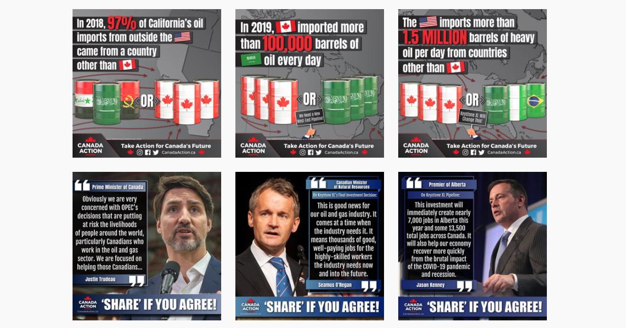 Canada Action Instagram