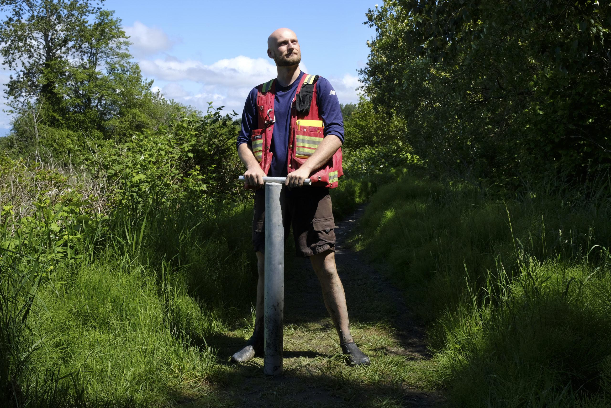 Eric Balke living dike climate change The Narwhal