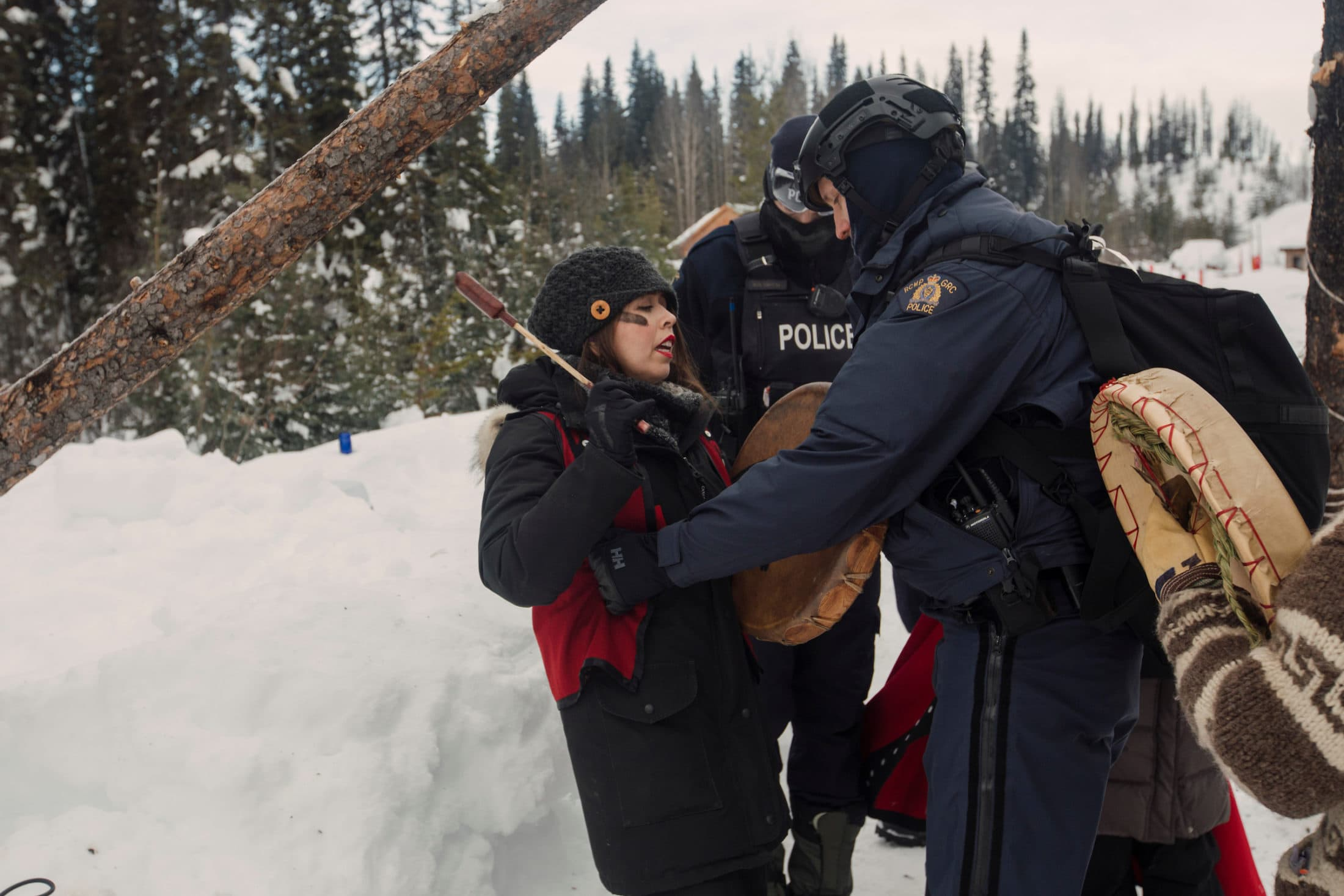 Karla Tait arrested, Wet'suwet'en