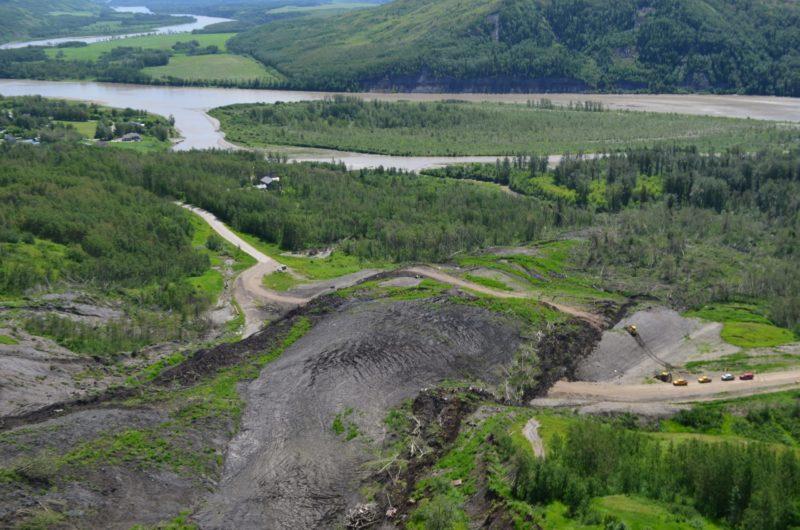 Peace Valley Old Fort Landslide