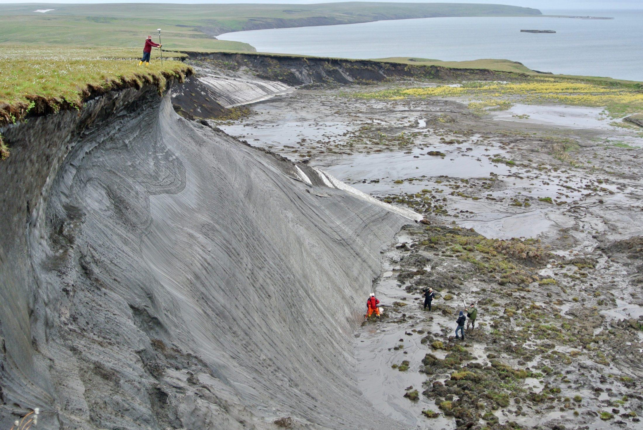 Herschel Island permafrost thaw