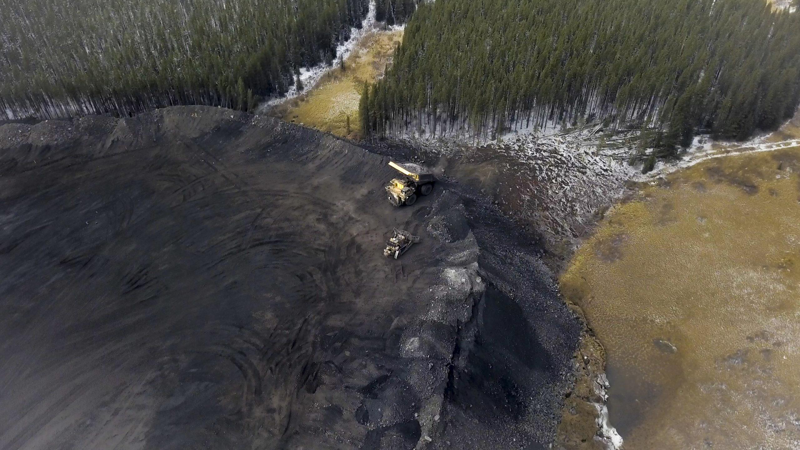 Teck Elk Valley mines waste rock