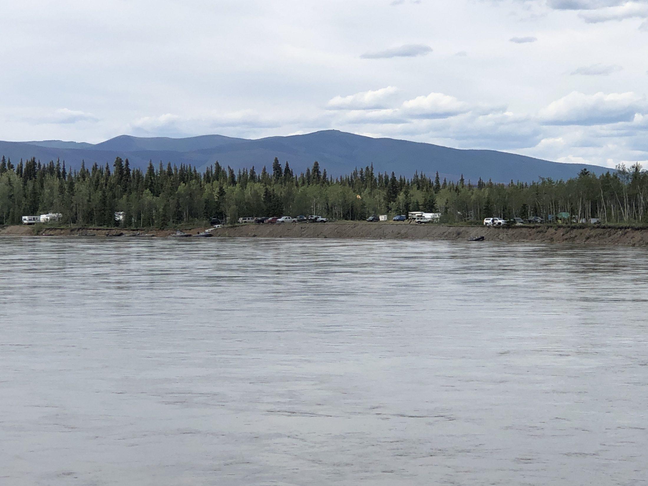McQuesten airstrip Yukon morel pickers