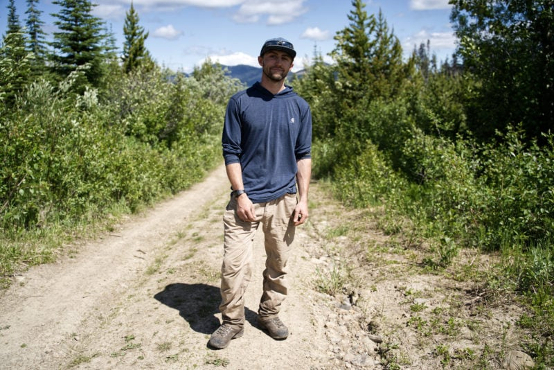 Landon Birch Wildlife Infometrics caribou