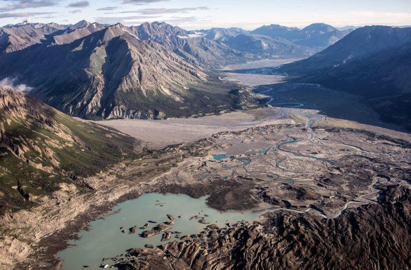 Slims River Yukon Kluane