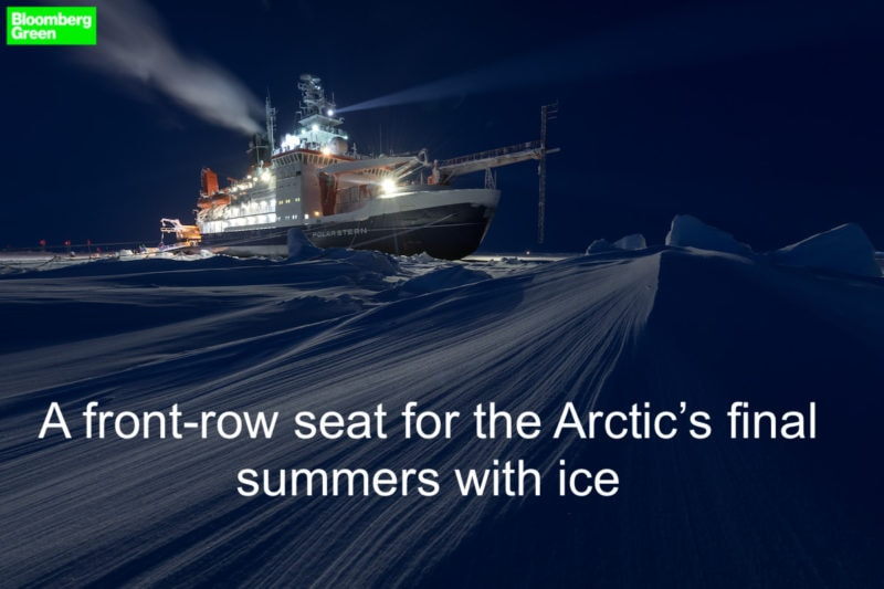 arctic research bloomberg news