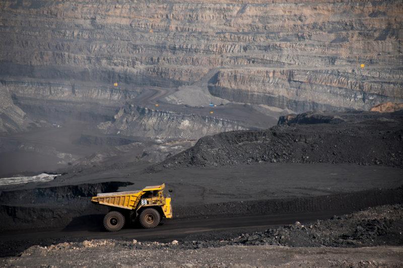open pit mining alberta
