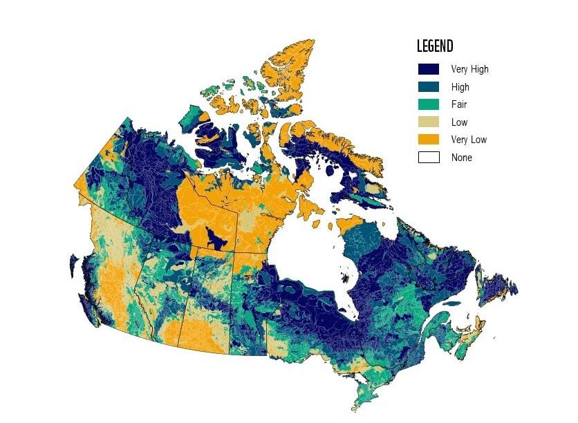 Soil carbon Canada