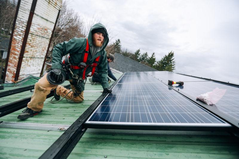 solar energy green jobs economy