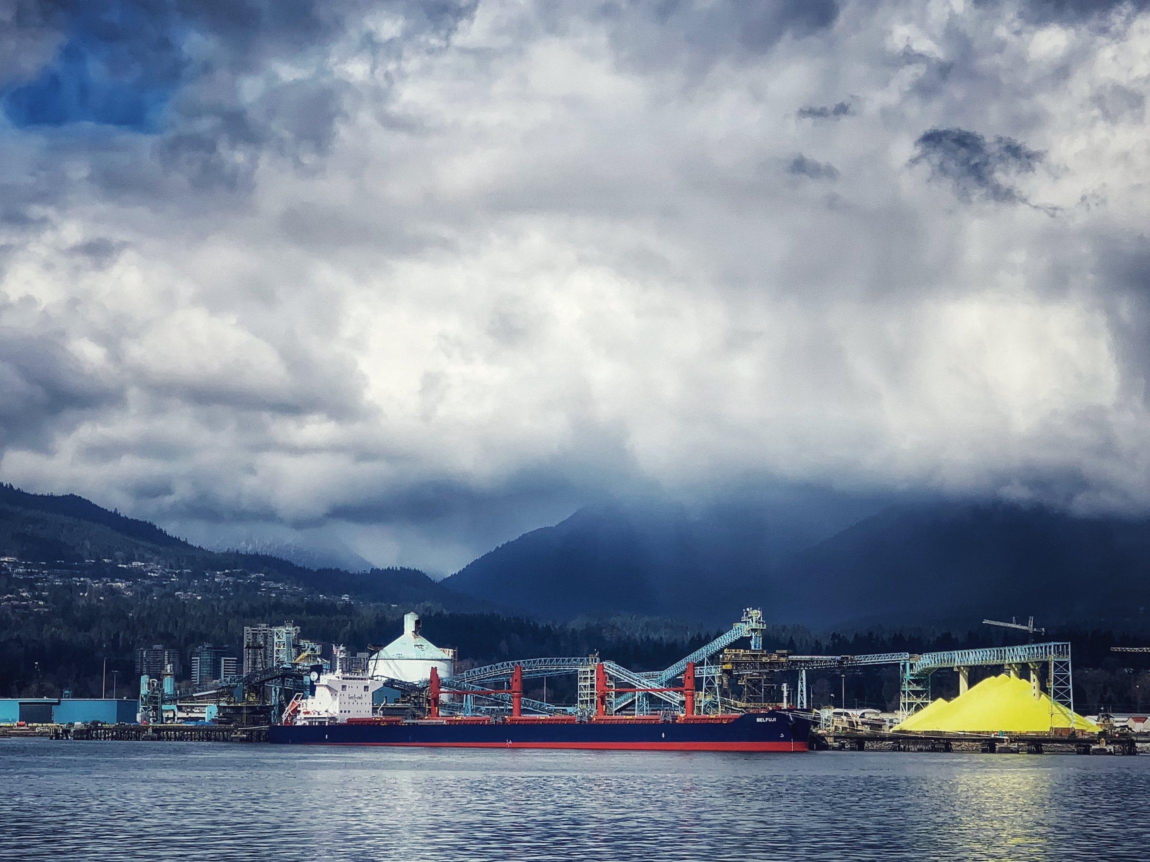 Burrard Inlet Vancouver