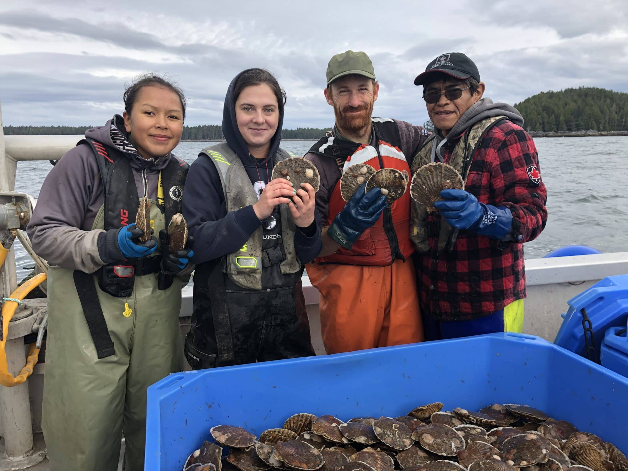 Coastal Shellfish staff