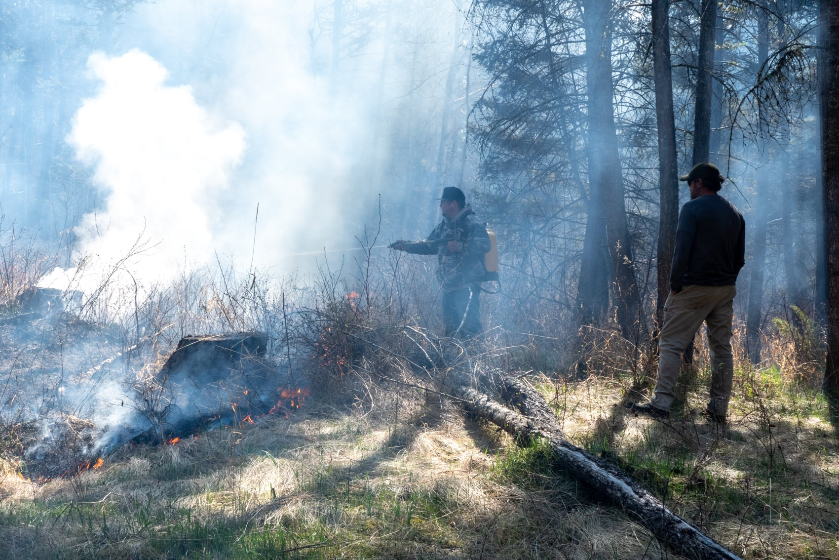 Tsilhqot'in cultural burn