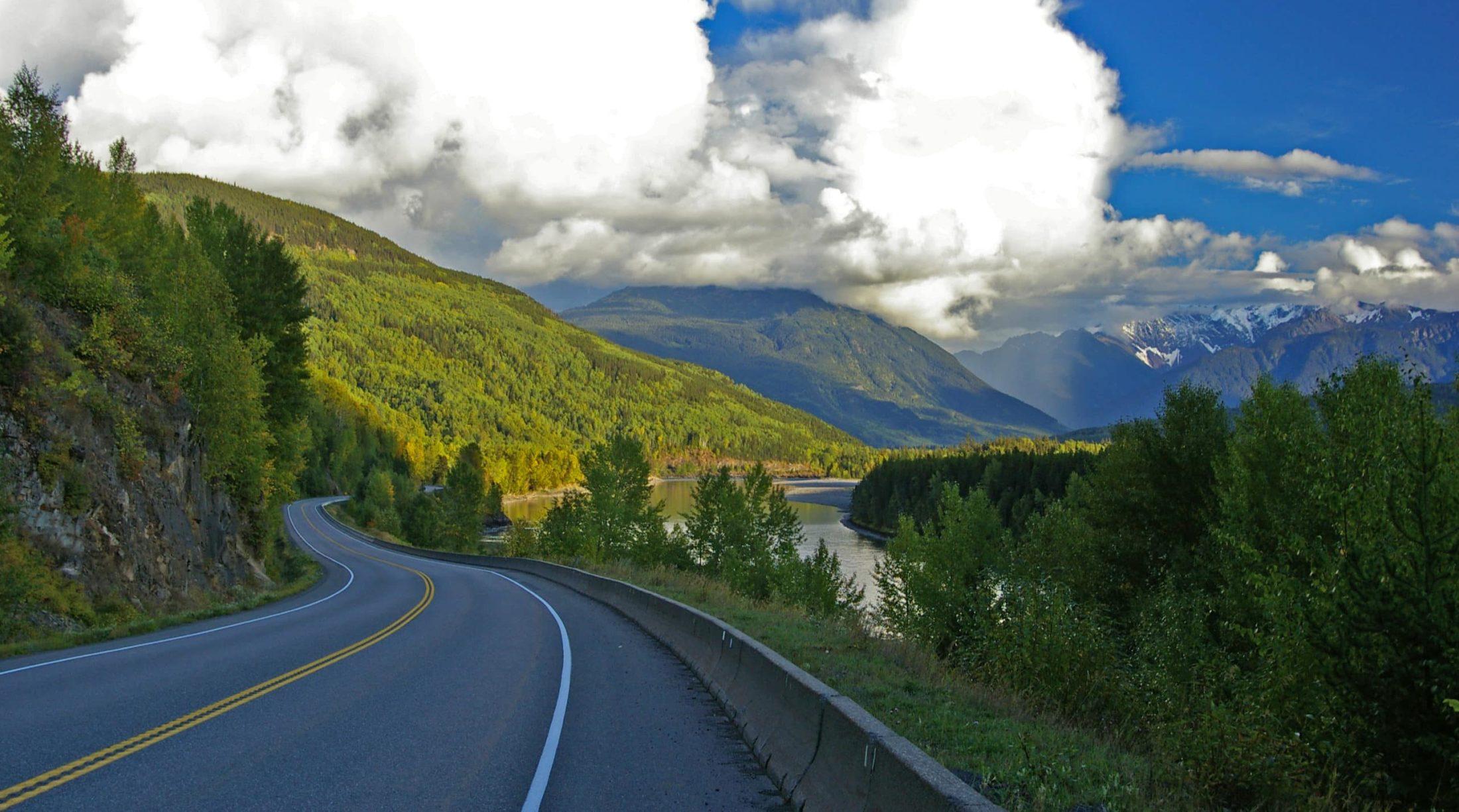Highway 16, Skeena River