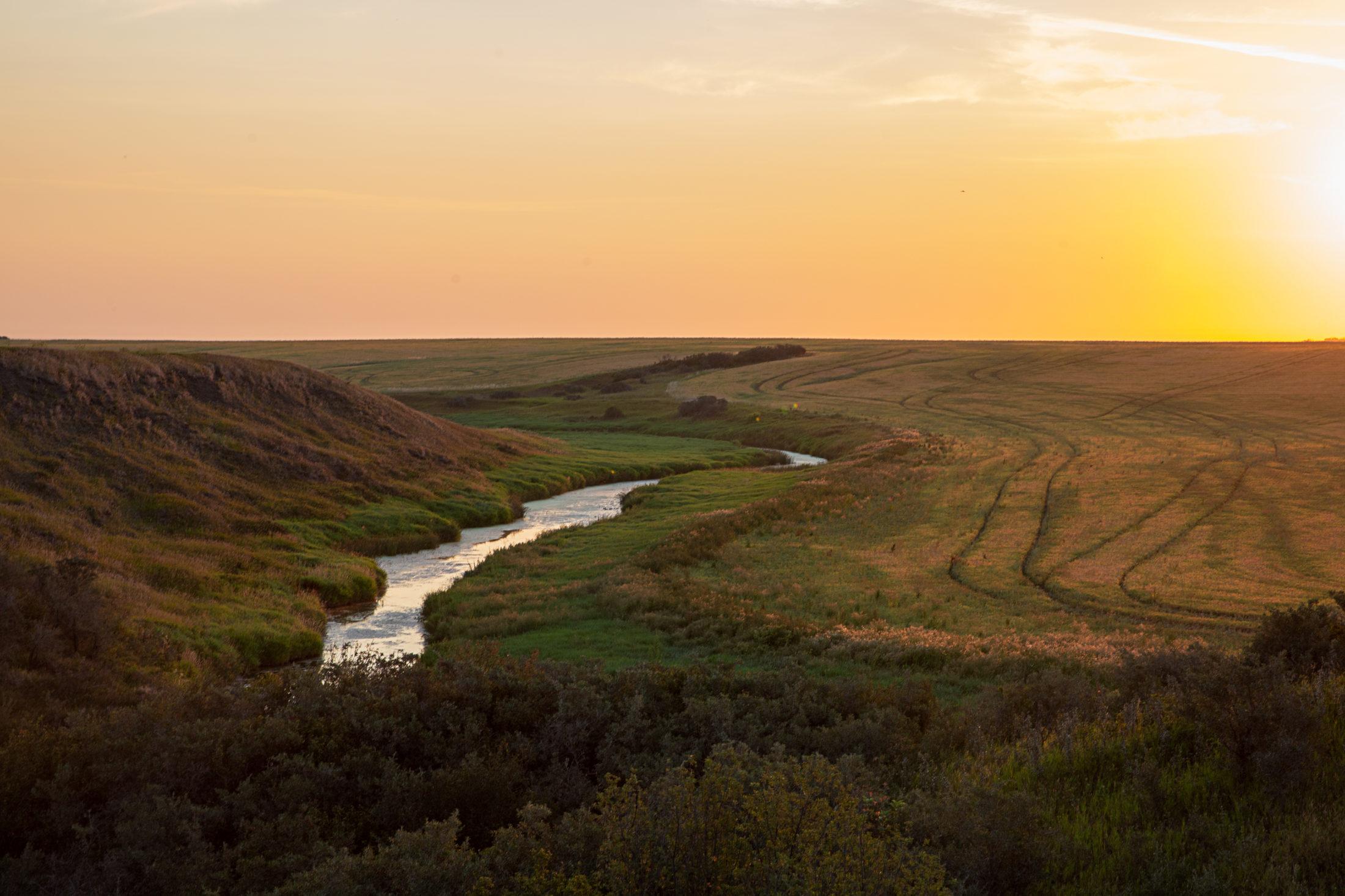 Saskatchewan farm